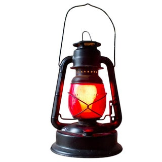 Dietz Little Wizard Kerosene Lantern Electric Lamp