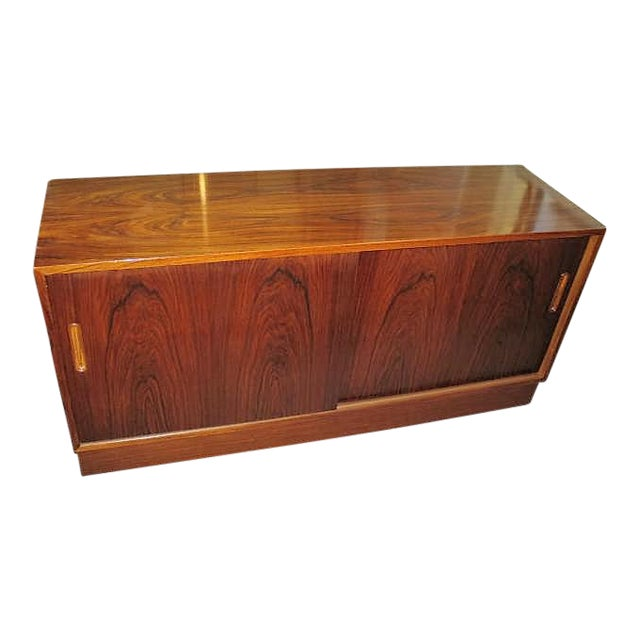 Circa 1970s Danish Rosewood Console - Image 1 of 5