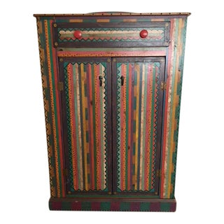 Painted David Marsh Cabinet