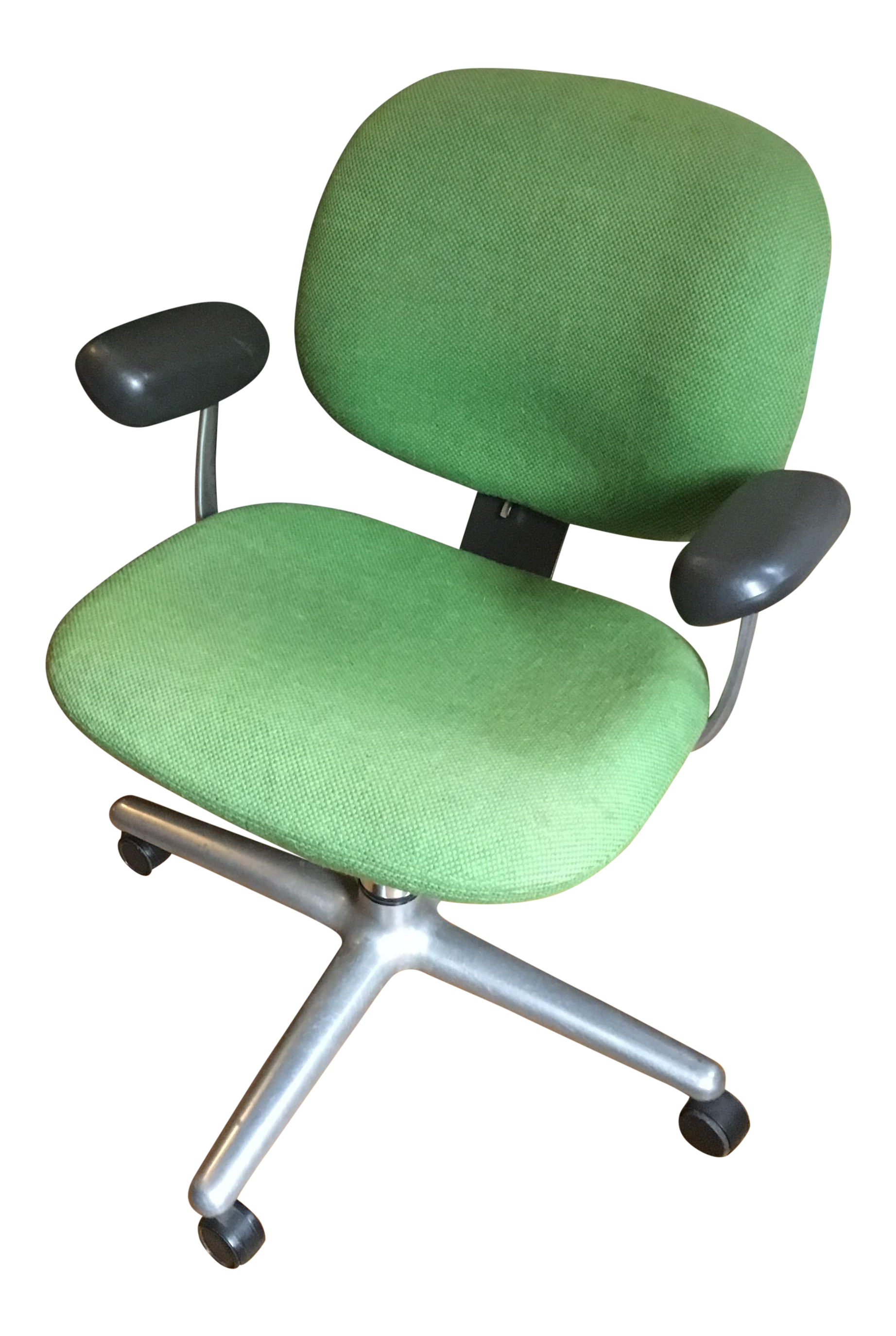 mid century modern office chair. vintage 1970s herman miller ergon office chair mid century modern