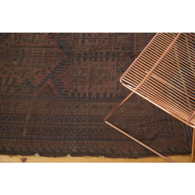"Vintage Belouch Carpet - 4'8"" x 8'3"" - Image 9 of 9"