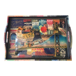 Annie Modica for Gump's San Francisco Wooden Tray