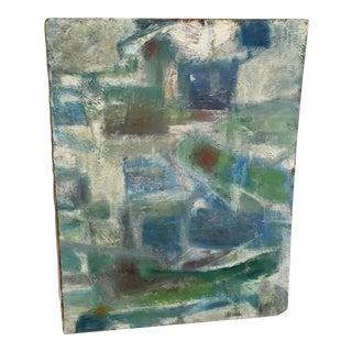 Segal Scandinavian Modern Abstract Painting