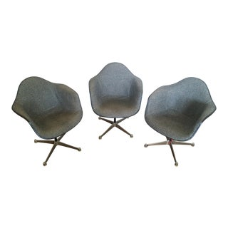 Vintage Herman Miller Swivel Shell Chairs 3 Available