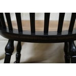 Image of Hitchcock Maple Windsor Dining Chairs - Set of 4