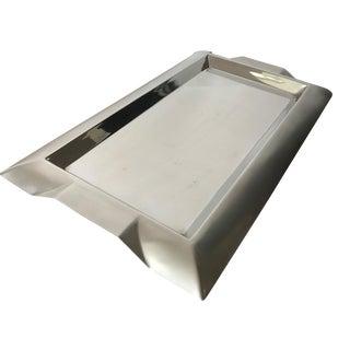 Modern Silver Tray