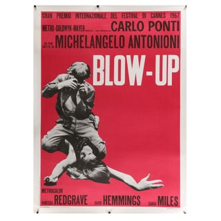 """Blow Up"" Italian Film Poster"