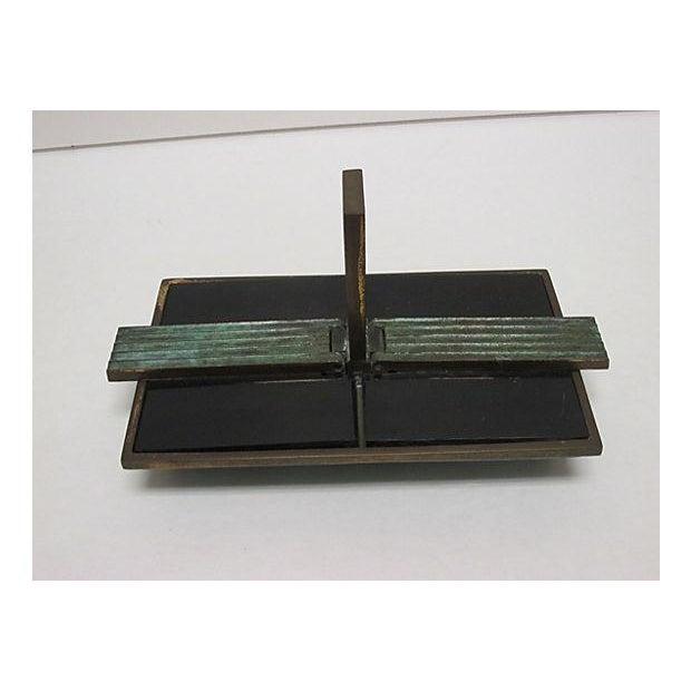 Art Deco Bronze Catchall - Image 2 of 8