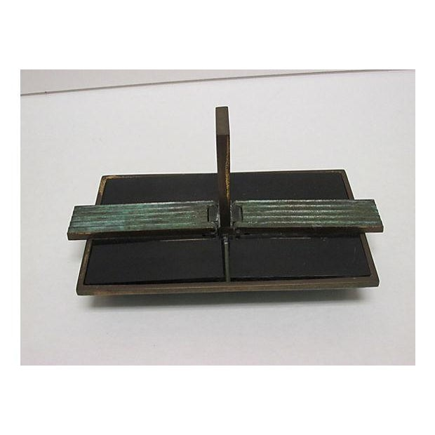 Image of Art Deco Bronze Catchall