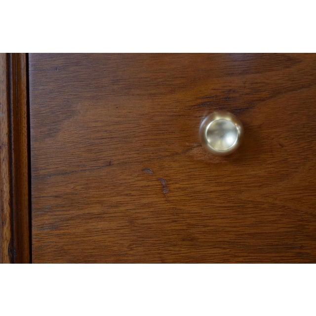 Image of Kent Coffey Sculptural Mid Century Walnut Dresser