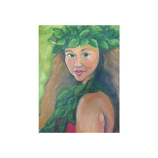Hawaiian Beauty on Stretched Canvas