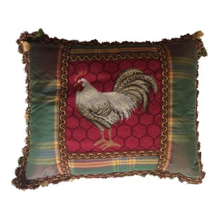 Vintage Barbara Sims Rooster Pillow