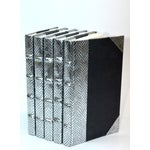 Image of Exotic Metallic Collection in Silver - Set of 3