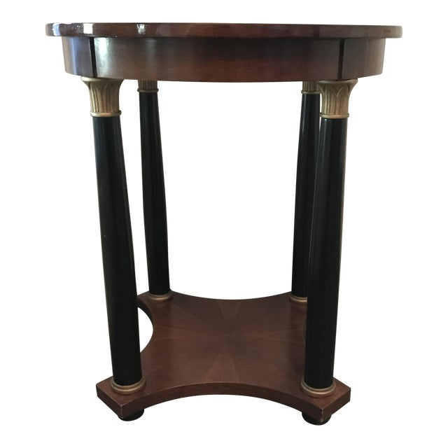 Empire Style Round Side Table Chairish