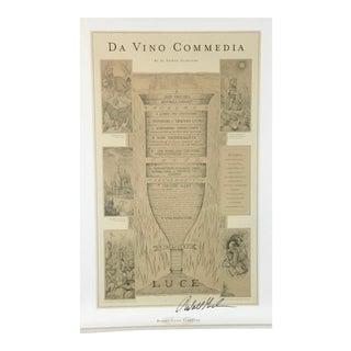 Bonny Doon Vineyard Vinferno Poster #1, Signed