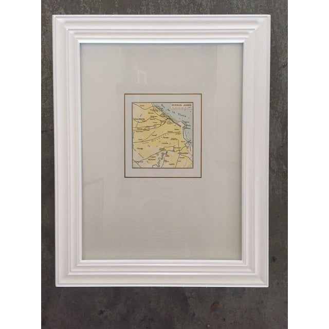 Framed Vintage Map of Buenos Aires - Image 2 of 5
