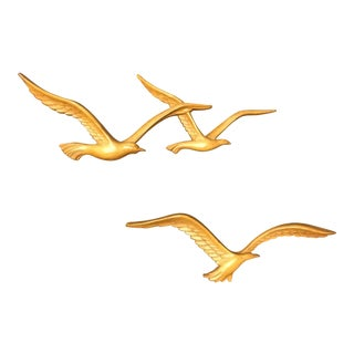 Homco Seagull Wall Accent - Set of 3