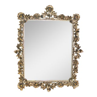 Bejeweled Gilt Mirror