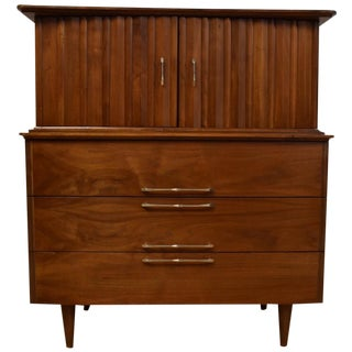 Young Furniture Walnut Dresser