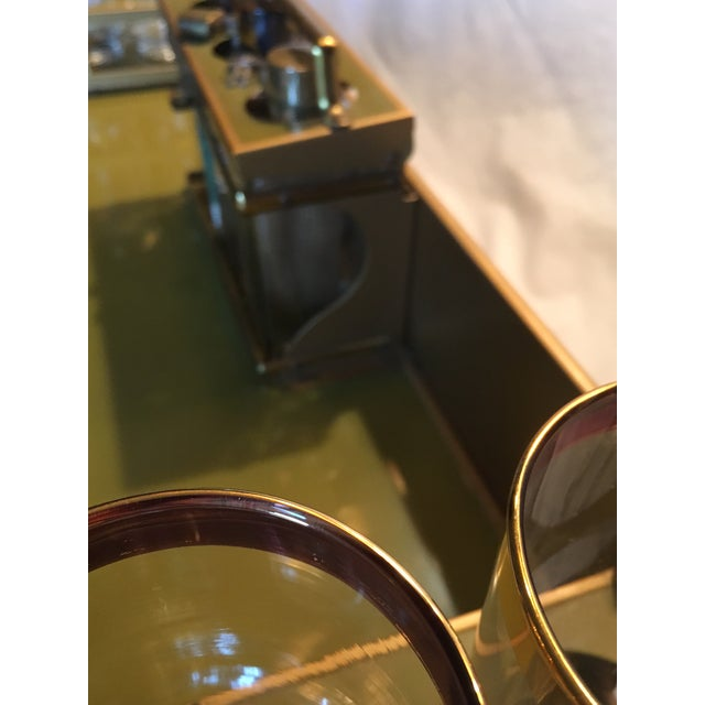 Mid-Century Modern Tabletop Bar - Image 9 of 11