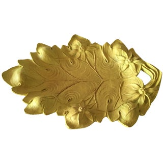 Burwood Yellow Leaf Tray