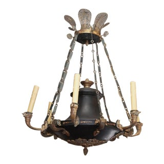 Period Antique French Empire Chandelier