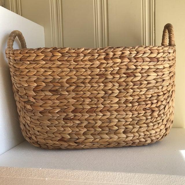 Boho Seagrass Rope Basket - Image 7 of 8