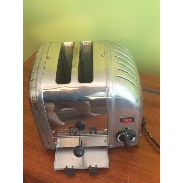 Iconic Dualit Chrome 2-Slice Toaster - Image 3 of 3