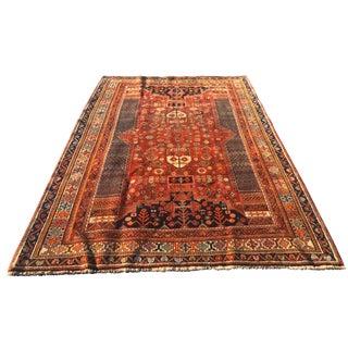 Antique Persian Qashghi Rug - 5′6″ × 8′6″