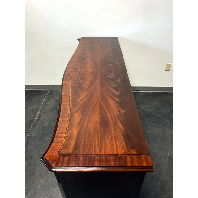 Councill Flame Mahogany Figural Carved Serpentine 9 Drawer Dresser - Image 9 of 11