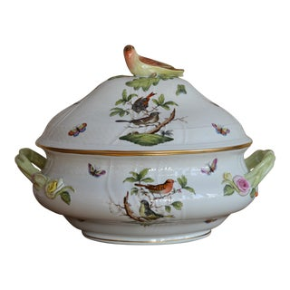 Rothschild Bird Tureen by Herend