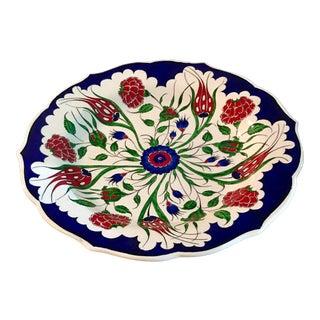 Moroccan Iznik Centerpiece Bowl