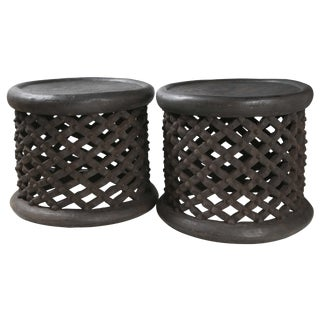 Cameroon Side Tables - Pair