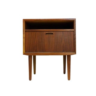 Vintage Falster Danish Teak End Table or Nightstand