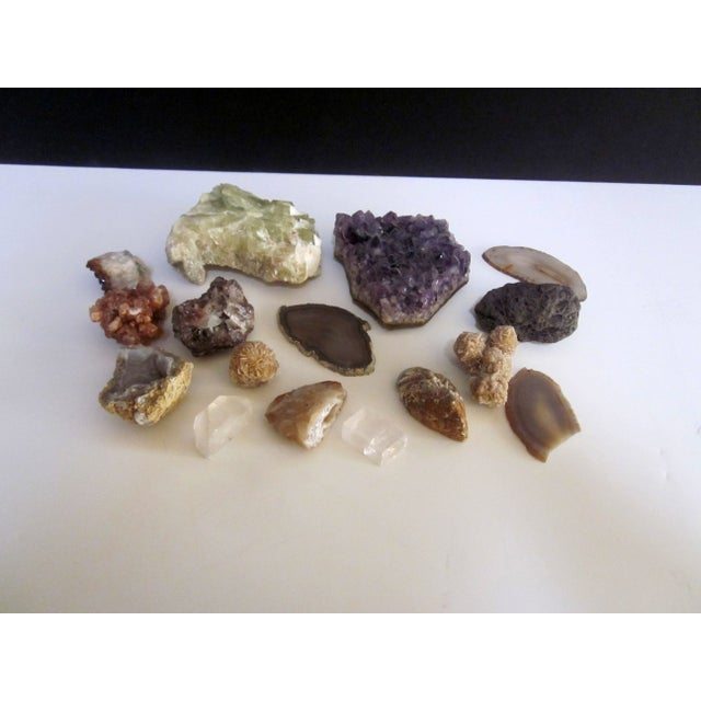 Image of Geode Agate Stones Collection - Set of 16