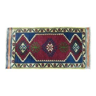 Vintage Turkish Anatolian - 1'6'' X 2'11''