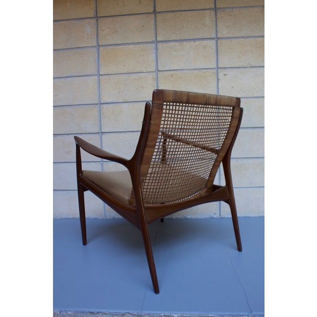 Kofod Larsen Cane Back Lounge Chair - Image 9 of 11