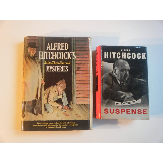 Image of Alfred Hitchcock Vintage Suspense Books - A Pair