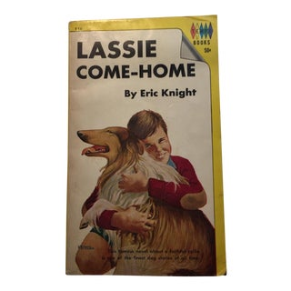 """Lassie Come Home"" Vintage Book by Eric Knight"
