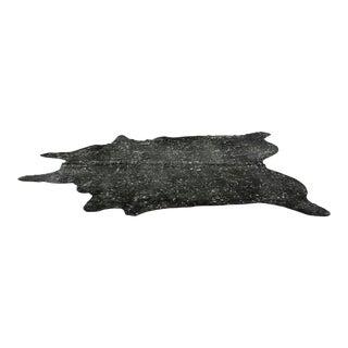 Black & Silver Brazilian Cowhide- 6′6″ × 8′6″