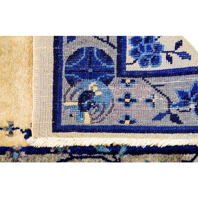 Early 20th Century Chinese Art Deco Rug - 2′ × 4′ - Image 2 of 5