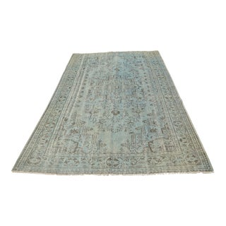 Oushak Handwoven Turkish Rug - 5′11″ × 9′4″