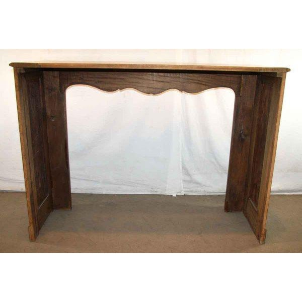 Hand Carved Oak French Provincial Mantel - Image 9 of 10