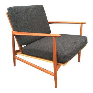 Mid-Century Danish Ib Kofod Larsen Lounge Chair
