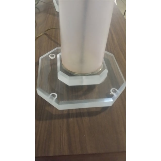 Lucite Lamps - Pair - Image 4 of 5