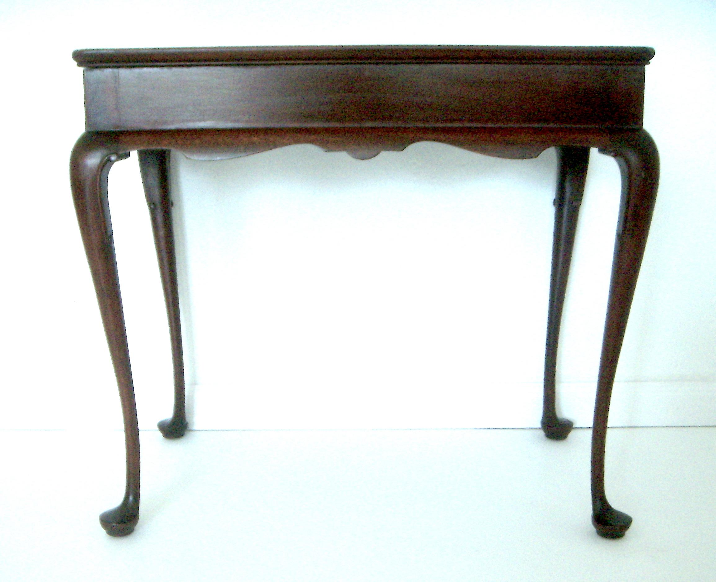 Biggs Pembroke Mahogany Side Table W/ Pull Out Leaves   Image 4 Of 8