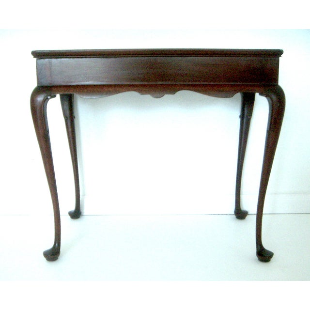 Biggs Pembroke Mahogany Side Table W Pull Out Leaves