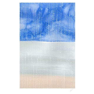 """Shorelines IV"" Watercolor Giclee Print"