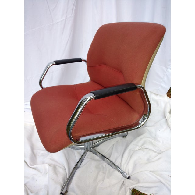 Vintage Steelcase Office Chair - Image 3 of 6
