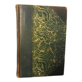 VIntage Emerald Green Charles Dickens Book
